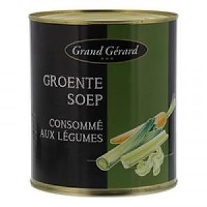 Grand Gerard groentesoep blik 3 liter