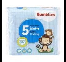 Bumblies luiers junior nr.5 33 stuks