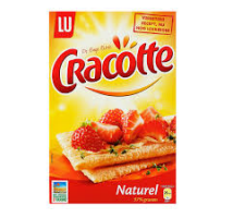 Cracottes naturel 3 pakken x 250 gram