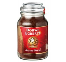 Douwe Egberts aroma rood oploskoffie pot 1 x 200 gram