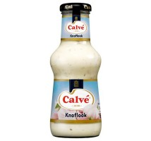 Calve knoflook saus 1 x 320 ml