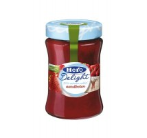 Hero aardbeien jam light 6 stuks