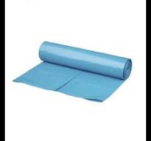 Afvalzak blauw 90 x 110 per rol 20 zakken