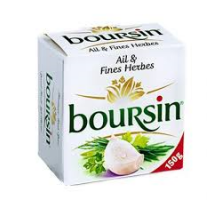 Boursin ail 150 gram per stuk
