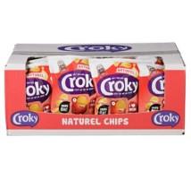 Croky chips naturel 20 stuks