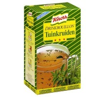 Knorr drink bouillon tuinkruiden 80 sticks