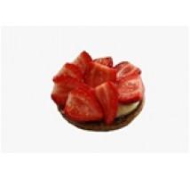 Aardbeien vlaaitje zonder slagroom per stuk