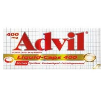 Advil ibuprofen 400 mg 20 stuks