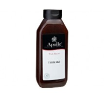 Apollo woksaus teriyaki fles 1 x 960 ml