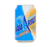 Aquarius orange 24 blikjes x 33 cl