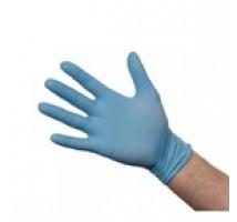 A228 latex handschoen blauw maat L 100 stuks