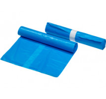 Afvalzak blauw 70 x 110 doos 15 rollen