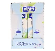 Alpro soya rijst drink lactosevrij 4 pakken x 1 liter