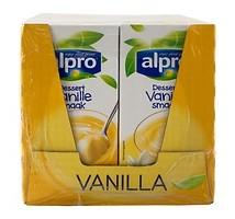 Alpro soya dessert vanille 16 x 525 gram