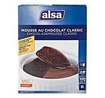 Alsa chocolade mousse classic 950 gram