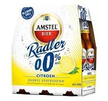 Amstel radler bier lemon fles 0% 24 x 30 cl
