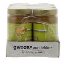 G'woon ananas jam 6 x 400 gram