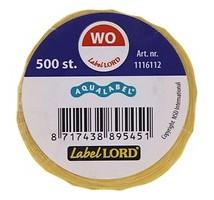 Aqualabel haccp woensdag stickers rol 500 stuks
