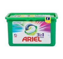 Ariel pods wasmiddel color 38 stuks