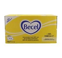 Becel boter 60% cups 200 x 10 gram