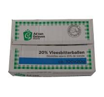 AVG vlees bitterballen 20% doos 100 stuks x 20 gram