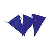 Slingers blauw vlag 10 meter
