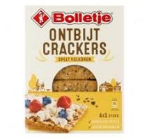 Bolletje ontbijt crackers spelt volkoren 4 x 3 pakjes