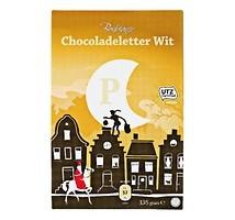 Bonbiance chocolade letter wit 135 gram