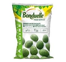 Bonduelle gehakte spinazie boullets 1 kilo