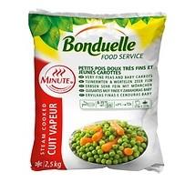 Bonduelle erwten / wortel extra fijn zak 2,5 kilo
