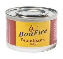 Bonfire brandpasta doos 60 stuks x 200 gram