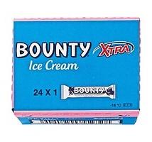 Bounty roomijs doos 24 stuks x 52 gram