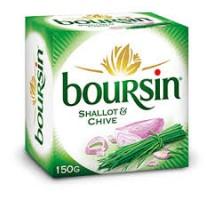 Boursin sjalot/bieslook 1 x 150 gram