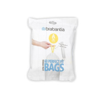 Brabantia afvalzak 3 liter 60 stuks