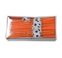 Buigrietjes oranje+ voetbal 24 cm