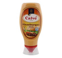 Calve hamburgersaus tube 430 ml