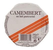 Camembert bar orange kaas 250 gram