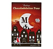Bonbiance chocolade letter puur 135 gram