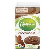 Campina chocolade vla 6 pakken x 500 ml