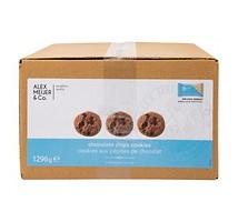 A.M. chocolate chip koekjes doos 150 stuks