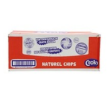 Croky chips naturel 20 zakjes x 40 gram