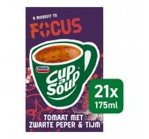 Cup A Soup drinkbouillon focus tomaat 21 zakjes