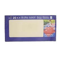 Dunicel napperon buttermilk 84 x 84 cm 20 stuks