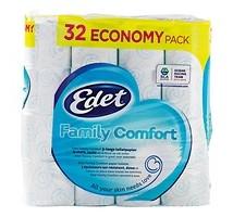 Edet toiletpapier family 32 rol