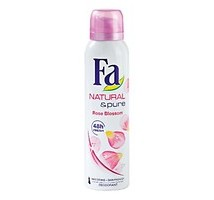Fa deodorant naturel pure roseflowers 3 bussen x 15 cl