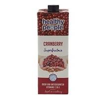 Healthy people vruchtensap cranberry pak 1 liter