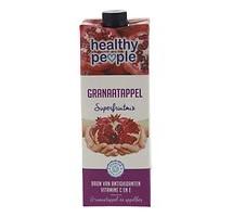 Healthy people vruchtensap framboos granaatappel pak 1 liter