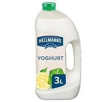 Hellmanns dressing yoghurt fles 3 liter