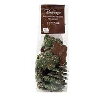 Bonbiance chocolade kerstbomen met musketzaad zakje 175 gram