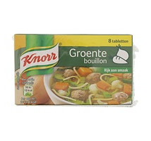 Knorr groenten bouillon blokjes 4 pakjes x 8 stuks